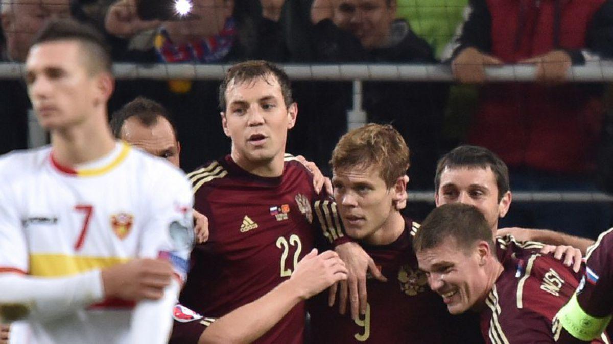 Rusia gana, clasifica a la Eurocopa y manda a Suecia al repechaje