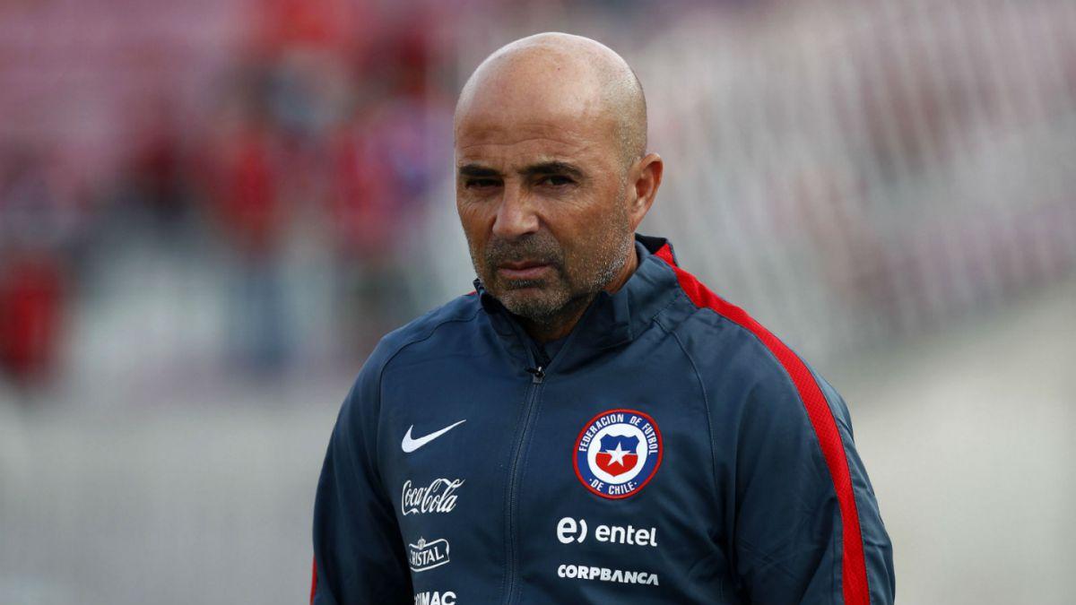 Sampaoli: Mi presente hoy es que Chile gane los próximos dos partidos en noviembre
