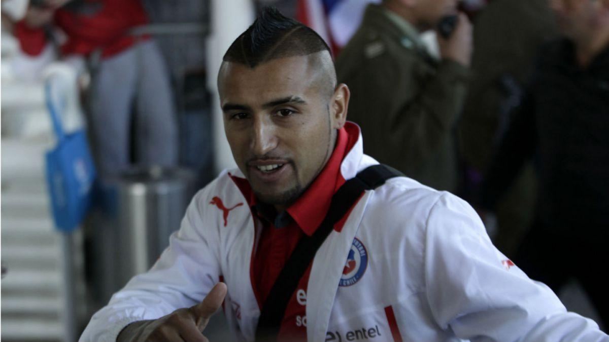 La Roja aterriza en Lima para su duelo clasificatorio ante Perú