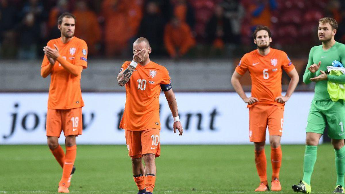 Holanda cae y tras 32 años queda fuera de la Eurocopa