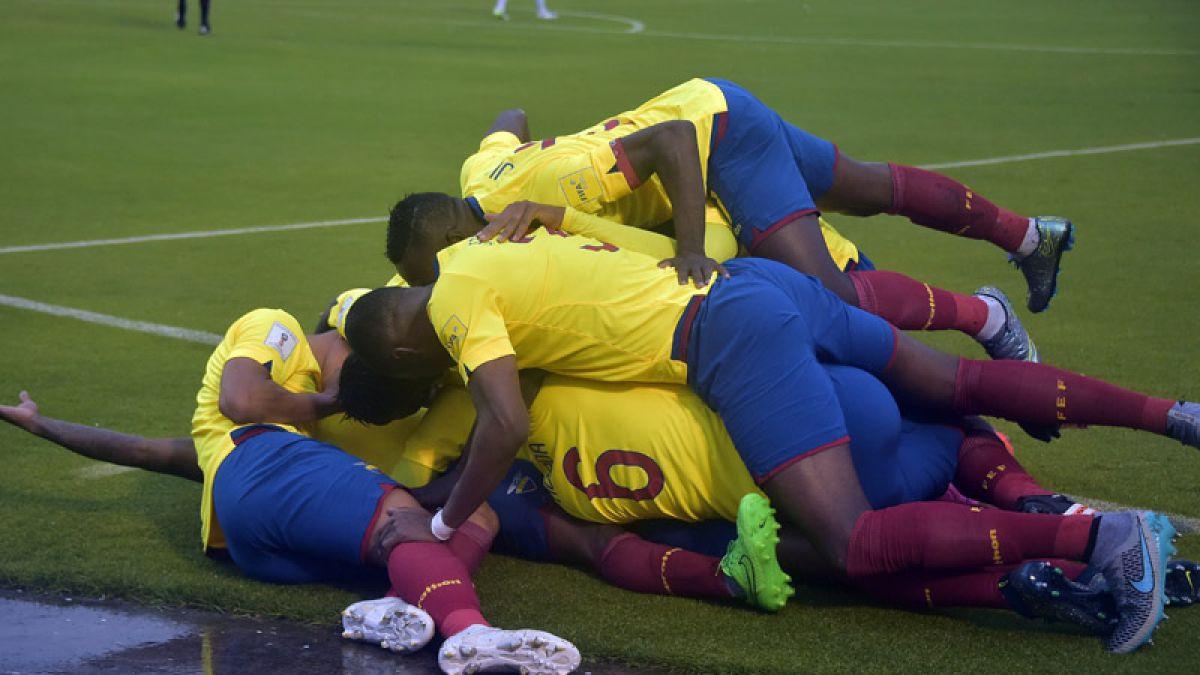 Ecuador vence a Bolivia en Quito y es líder en Clasificatorias