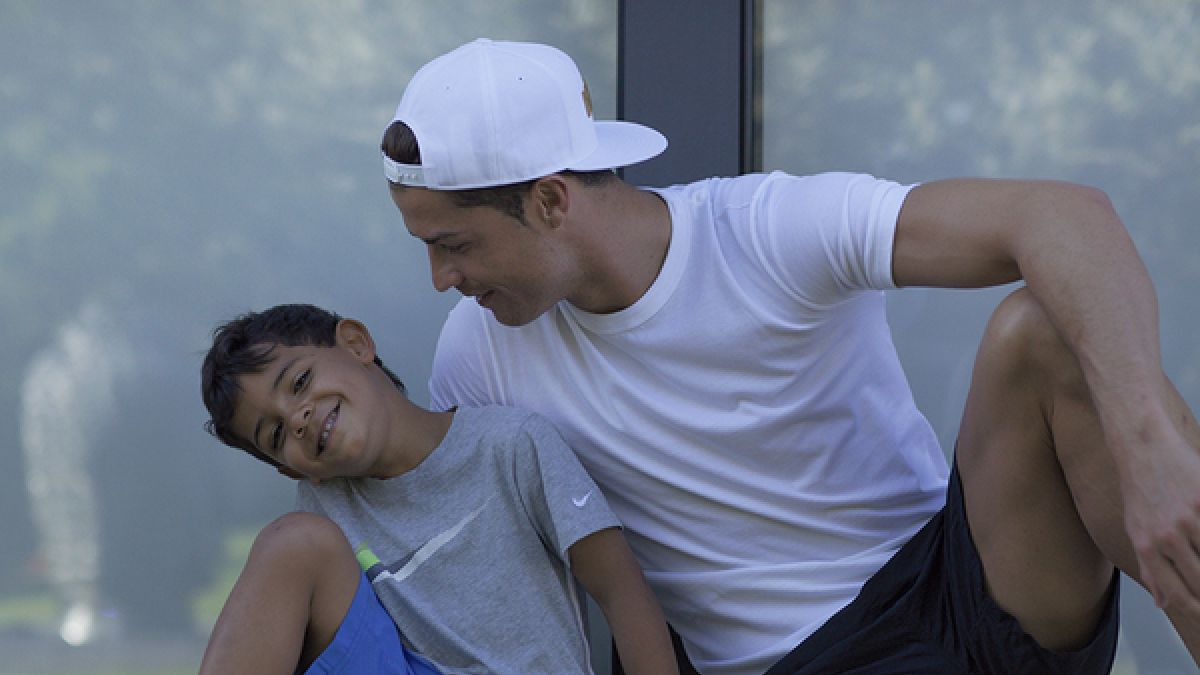 El chascarro de Cristiano Ronaldo y su hijo