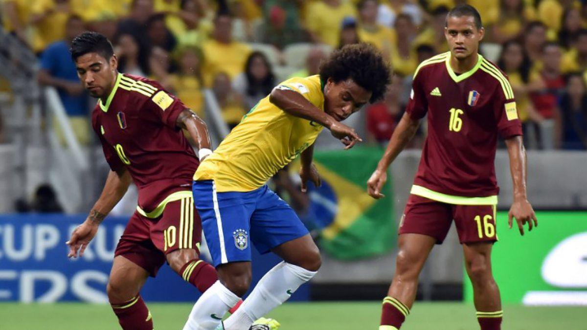 [MINUTO A MINUTO] Brasil está venciendo a Venezuela en casa