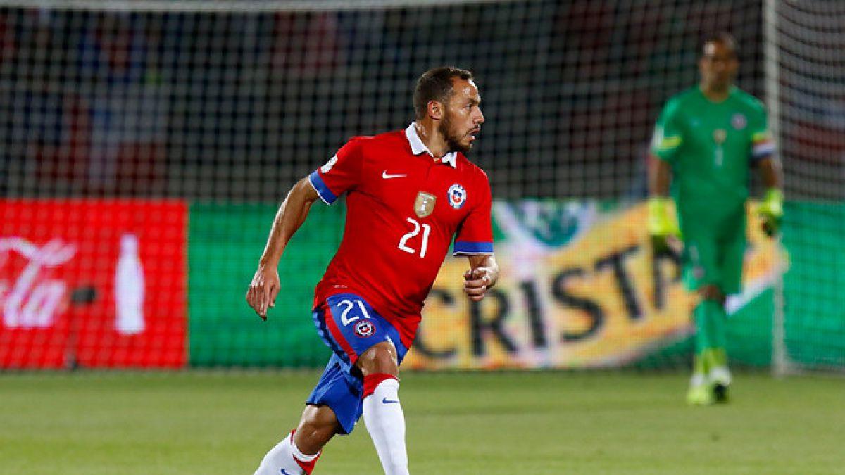 Marcelo Díaz descartado para duelo ante Colombia