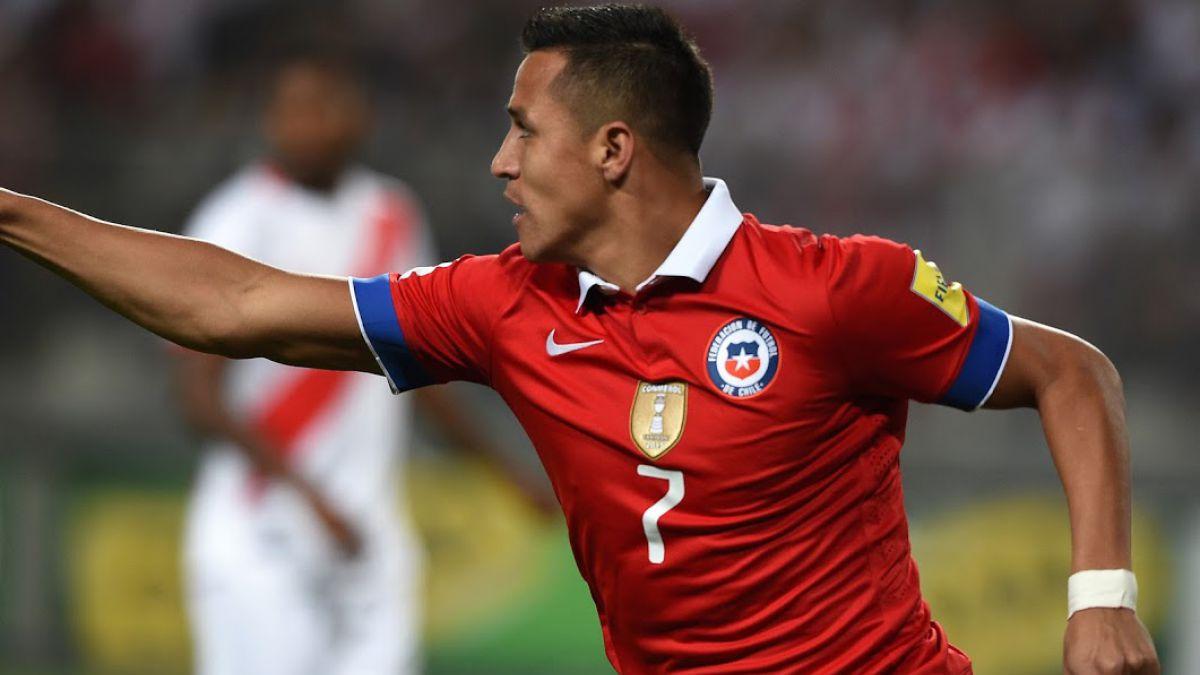 """Alexis Sánchez supera a Caszely y se convierte en el tercer goleador histórico de """"La Roja"""""""