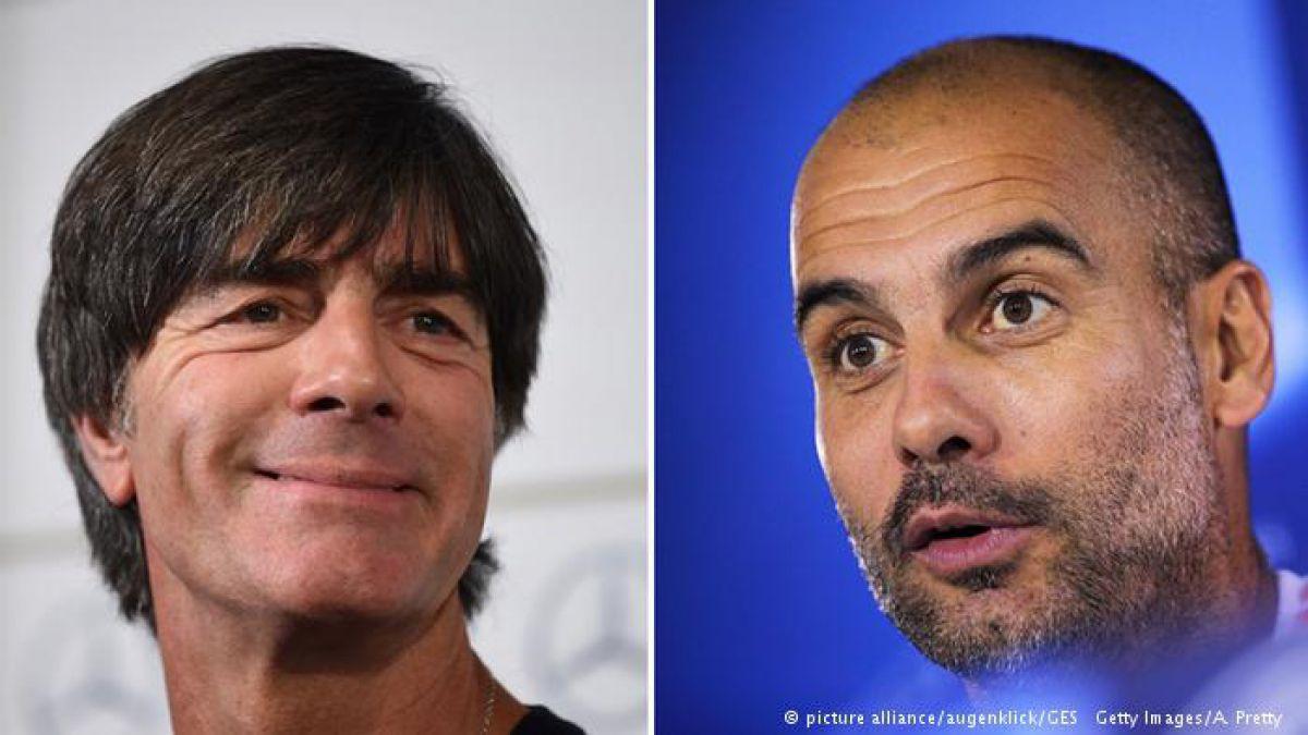 La discreta rivalidad entre Löw y Guardiola
