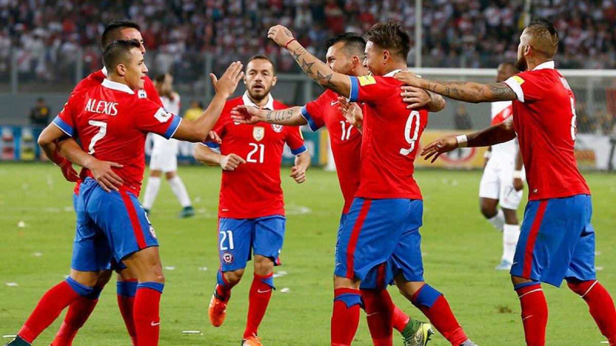 Ranking FIFA: Chile se mete por primera vez entre las cinco mejores selecciones del mundo