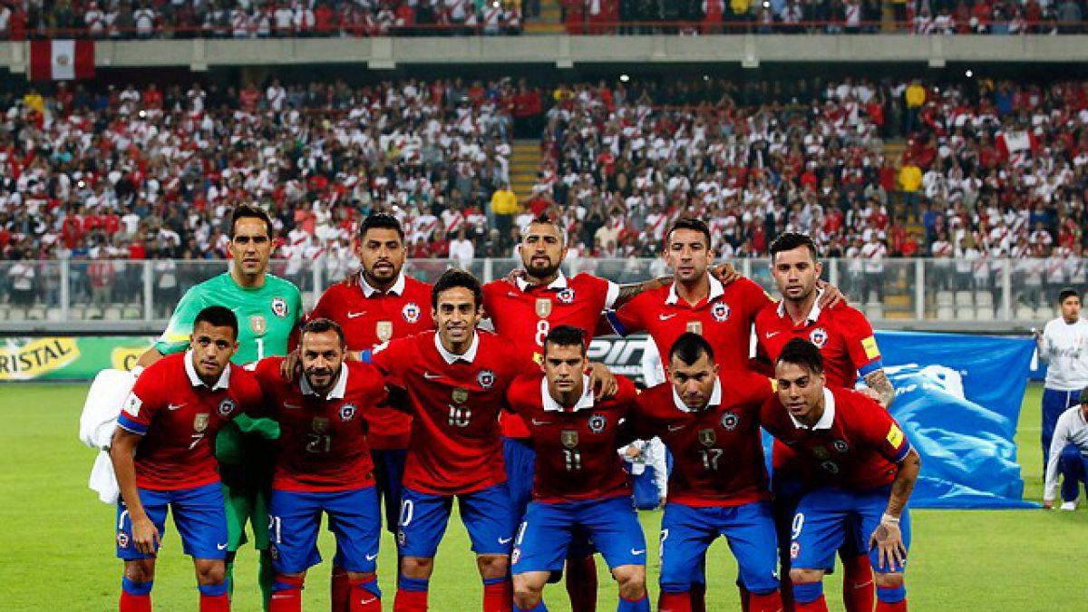 Cinco de once: Los chilenos protagonizan la formación de la segunda fecha de las Clasificatorias