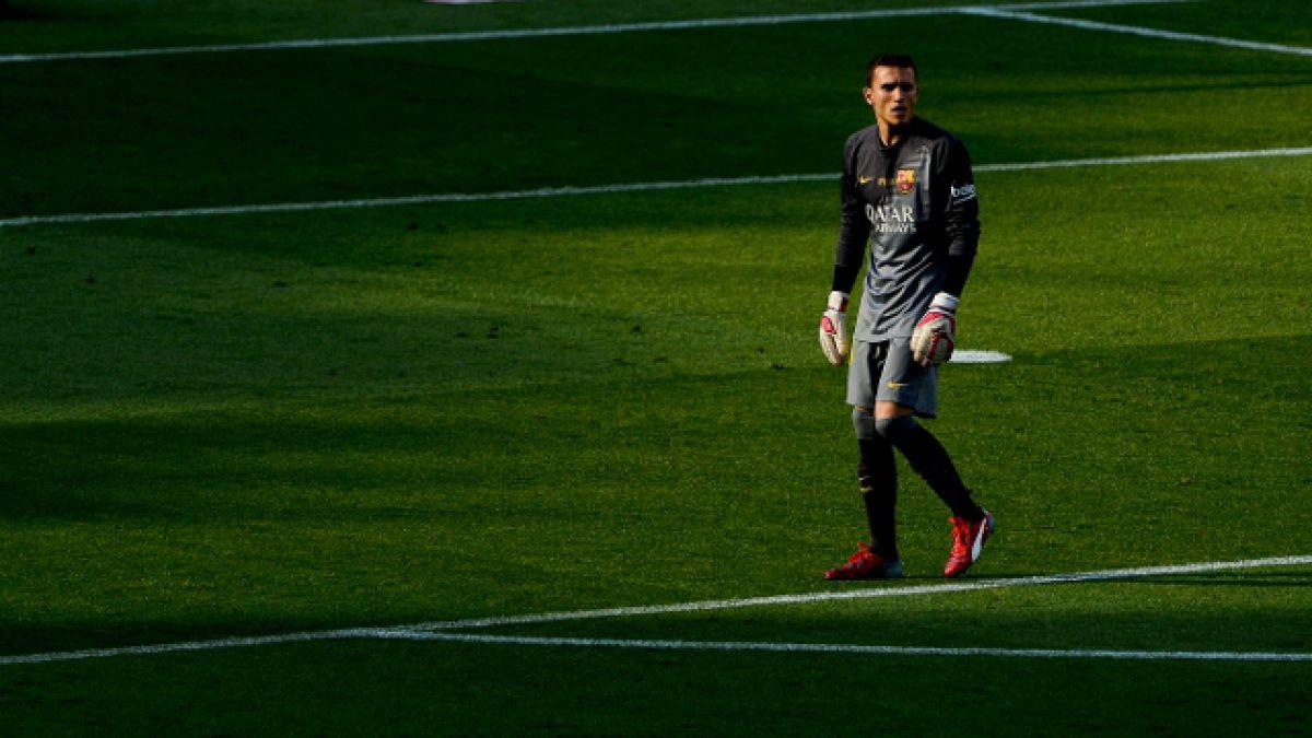 """Jordi Masip: """"Claudio Bravo tiene muchísima experiencia y aprendo mucho con él"""""""