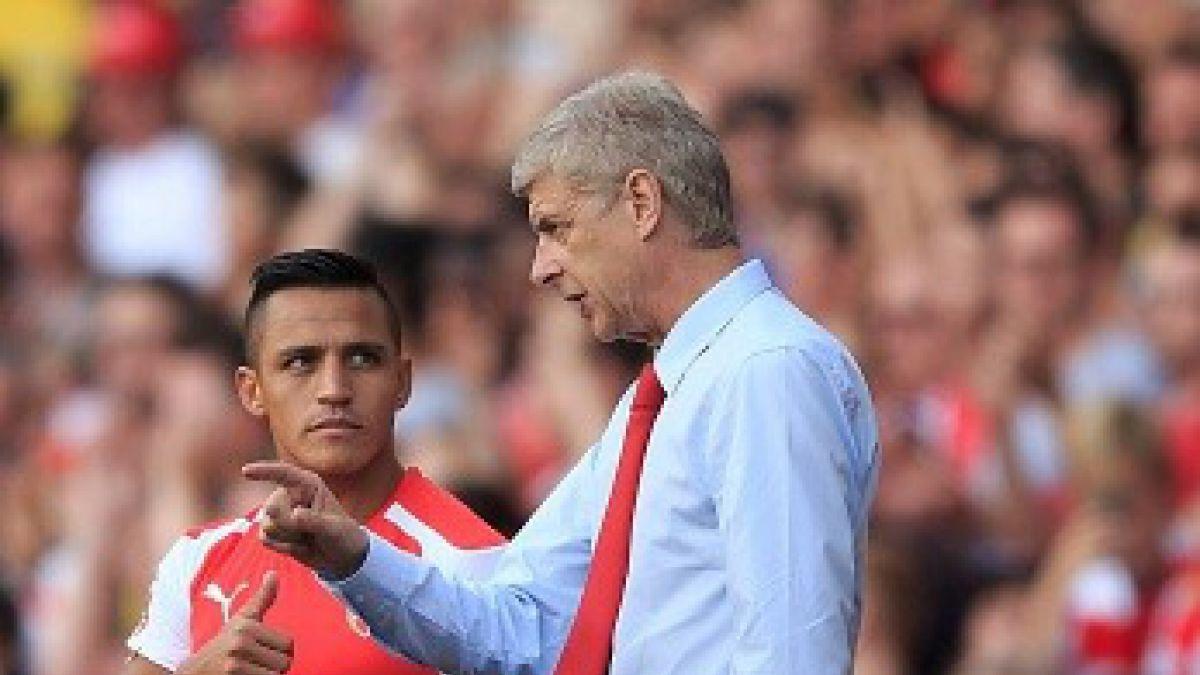 Arsene Wenger preocupado por estado físico de Alexis