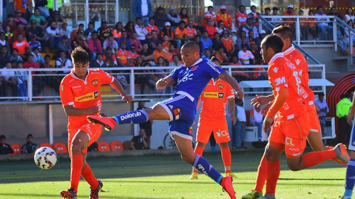 La U consigue valioso triunfo ante Cobreloa en Calama por Copa Chile