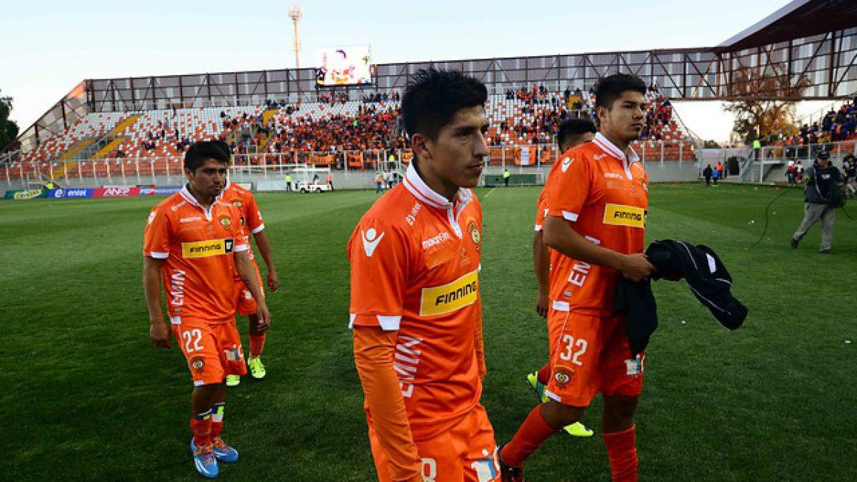 """PF de Cobreloa avisa: """"No sé si vamos a jugar el duelo de vuelta con la U"""""""