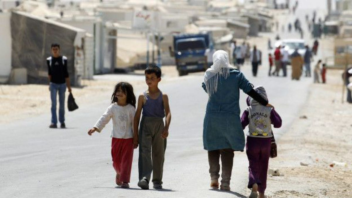 Los desesperados refugiados sirios que optan por regresar a la zona de guerra