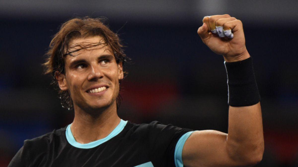 Nadal arrasa con Wawrinka y se mete en semifinales del Masters de Shanghai