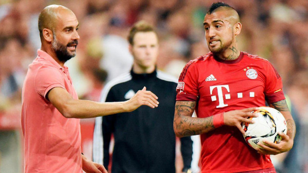 """Josep Guardiola: """"Vidal se siente fuerte y quiere jugar ante el Bremen"""""""