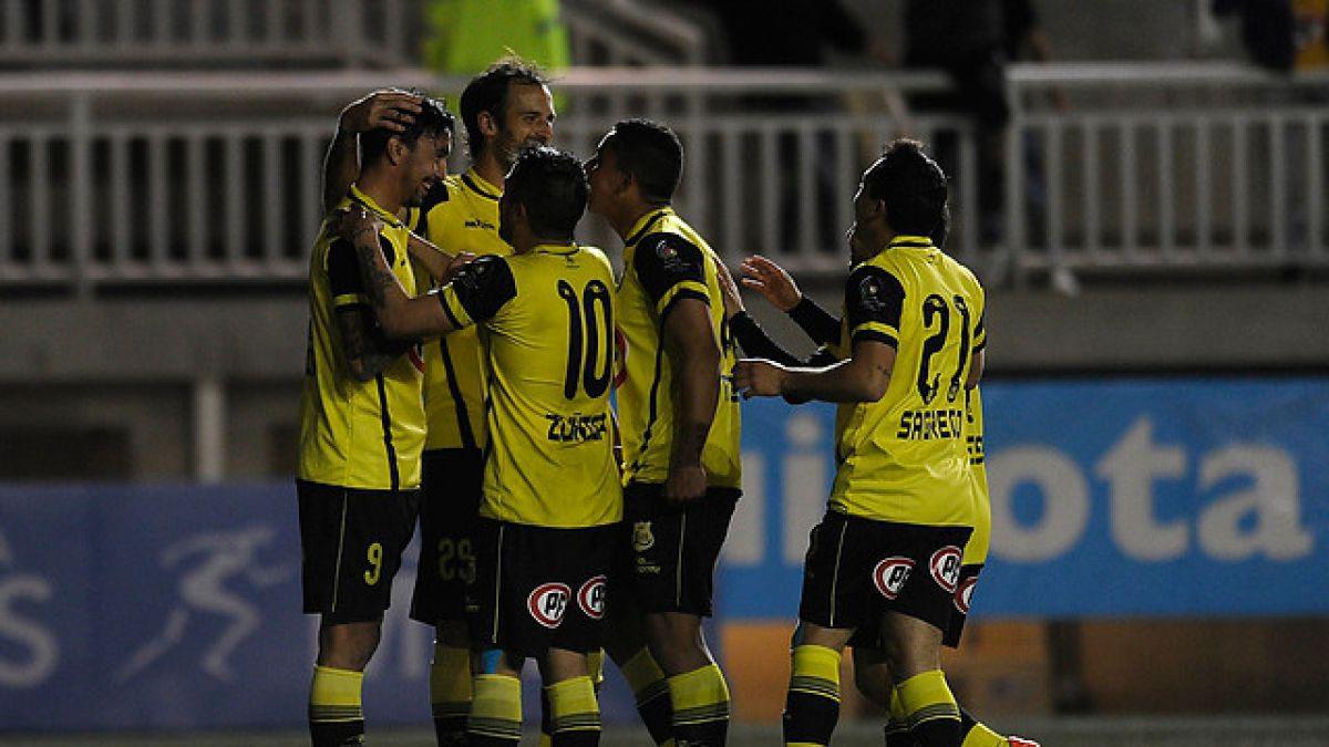Entretenido partido en Quillota: San Luis golea 6-2 a Palestino