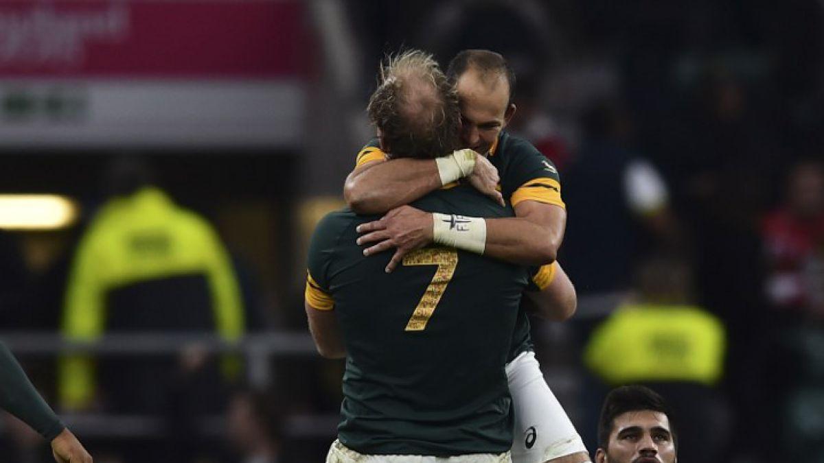 Mundial de Rugby: Sudáfrica elimina a Gales y es el primer semifinalista