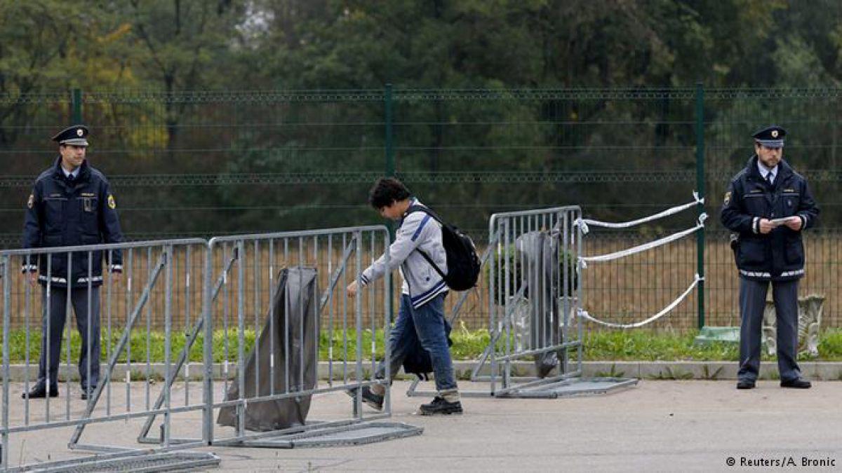 Eslovenia restringe el paso de los refugiados