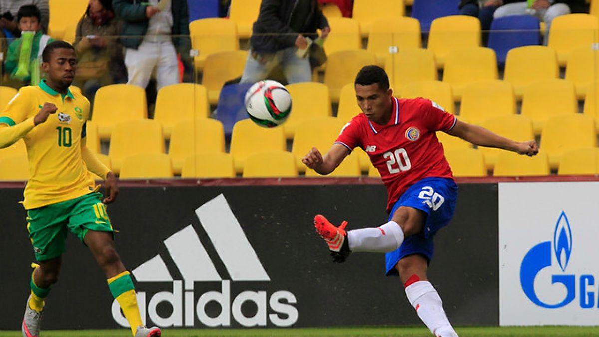 [MINUTO A MINUTO] Costa Rica está venciendo a Sudáfrica por el Grupo E del Mundial Sub 17