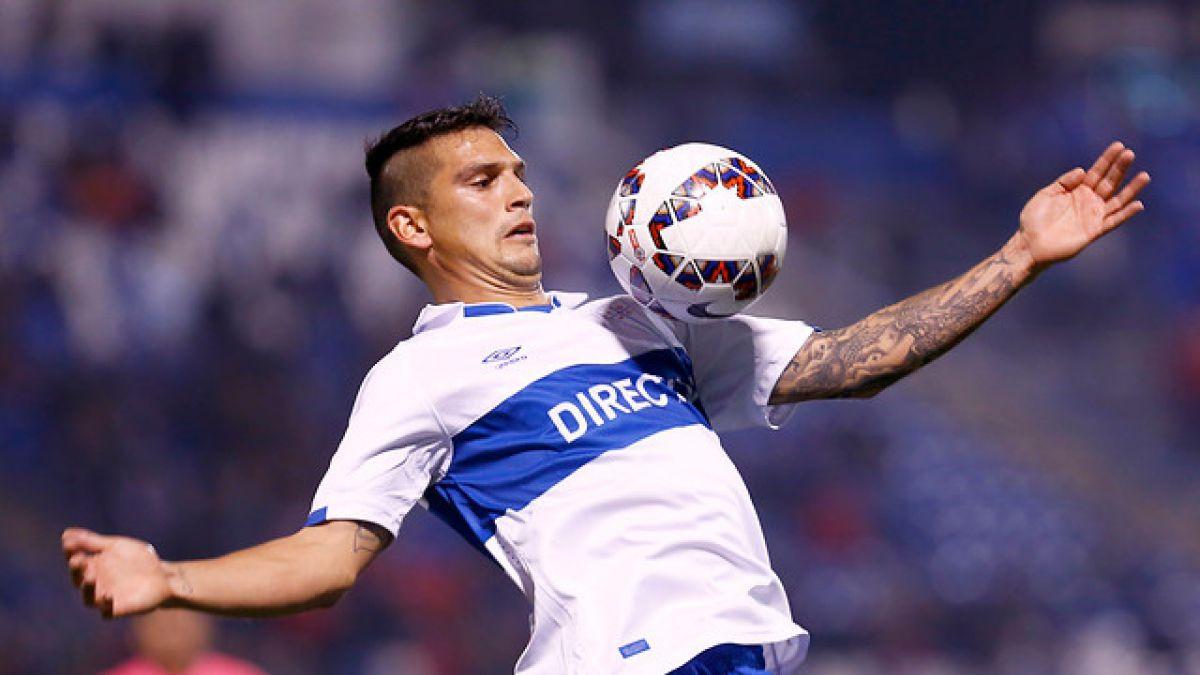 Mark González supera lesión en la UC y sería titular ante Palestino