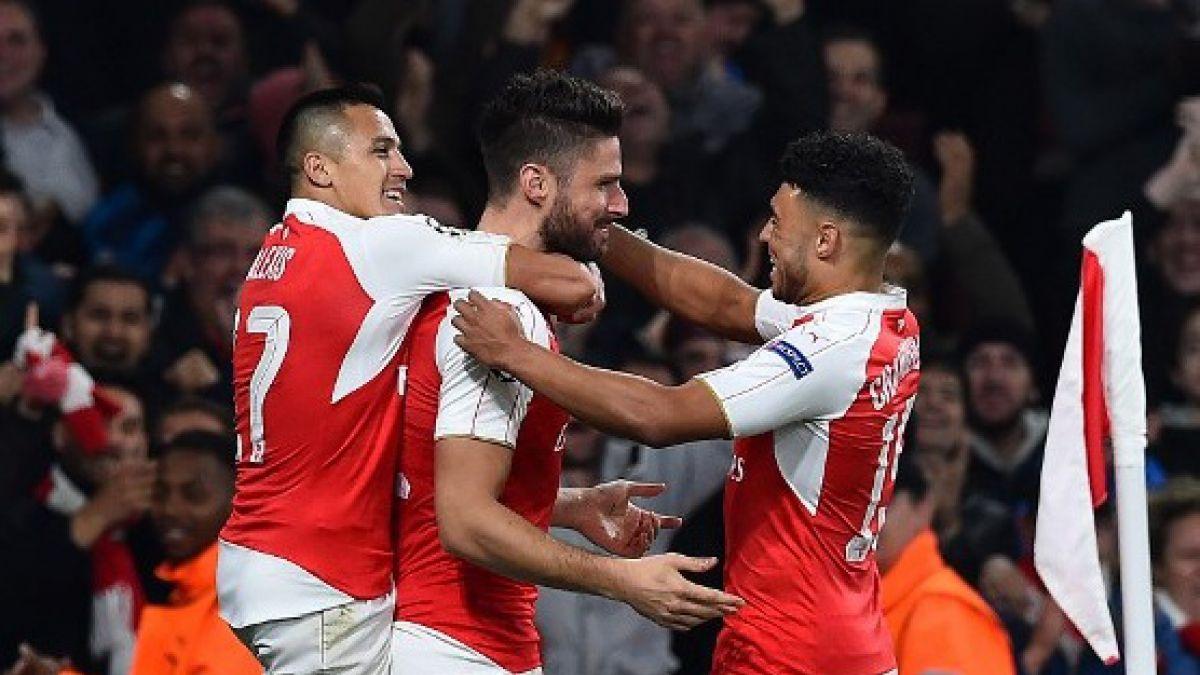 Alexis gana duelo de chilenos a Vidal: Arsenal vence a Bayern Munich por Champions