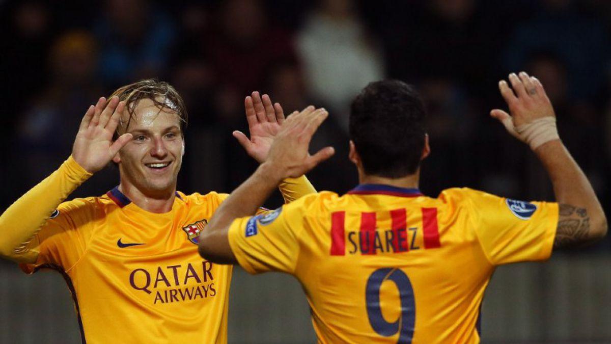Barcelona de Claudio Bravo gana y es líder en el grupo E de la Champions