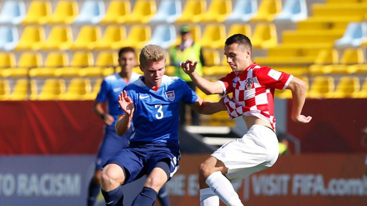Buen resultado para Chile: Estados Unidos y Croacia igualan en el Mundial Sub17