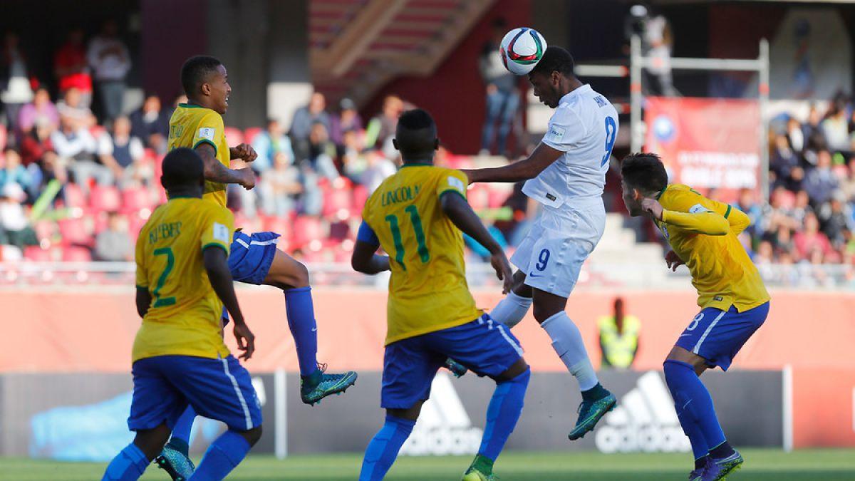 [VIDEO] Brasil se repone en el Mundial Sub 17 con victoria sobre Inglaterra