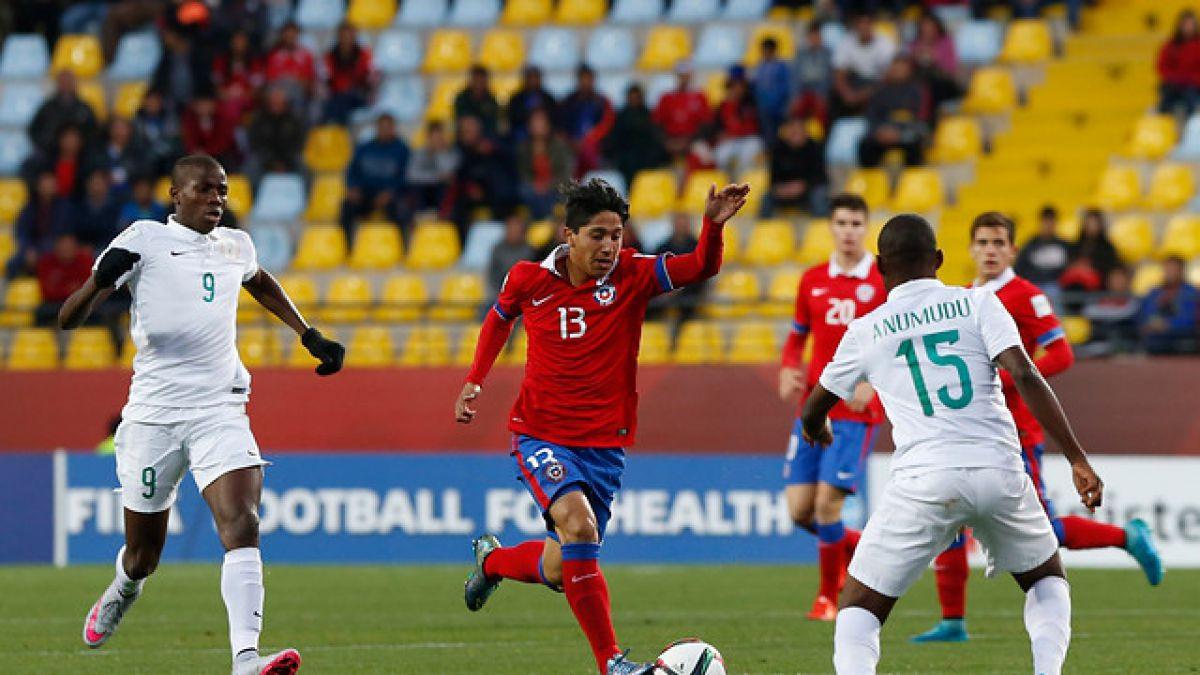 """La """"Rojita"""" busca el empate: los números del primer tiempo entre Chile y Nigeria"""