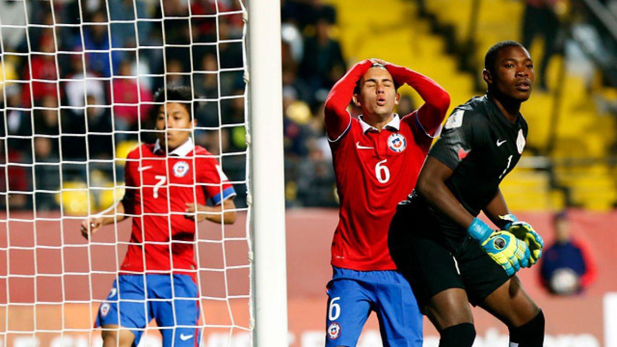 Chile sufre dura goleada ante Nigeria en el Mundial Sub 17