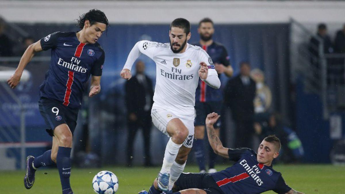 Duelo Ronaldo-Ibrahimovich sin ganador: Real Madrid iguala con PSG en Champions
