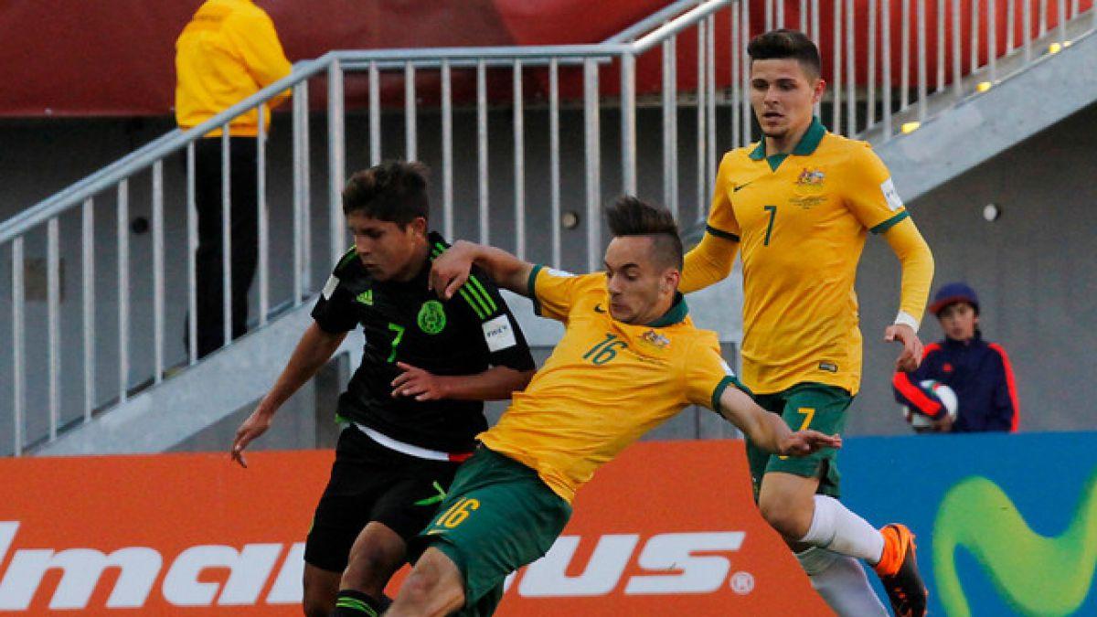 México empata en Chillán y se acerca a octavos del Mundial Sub 17