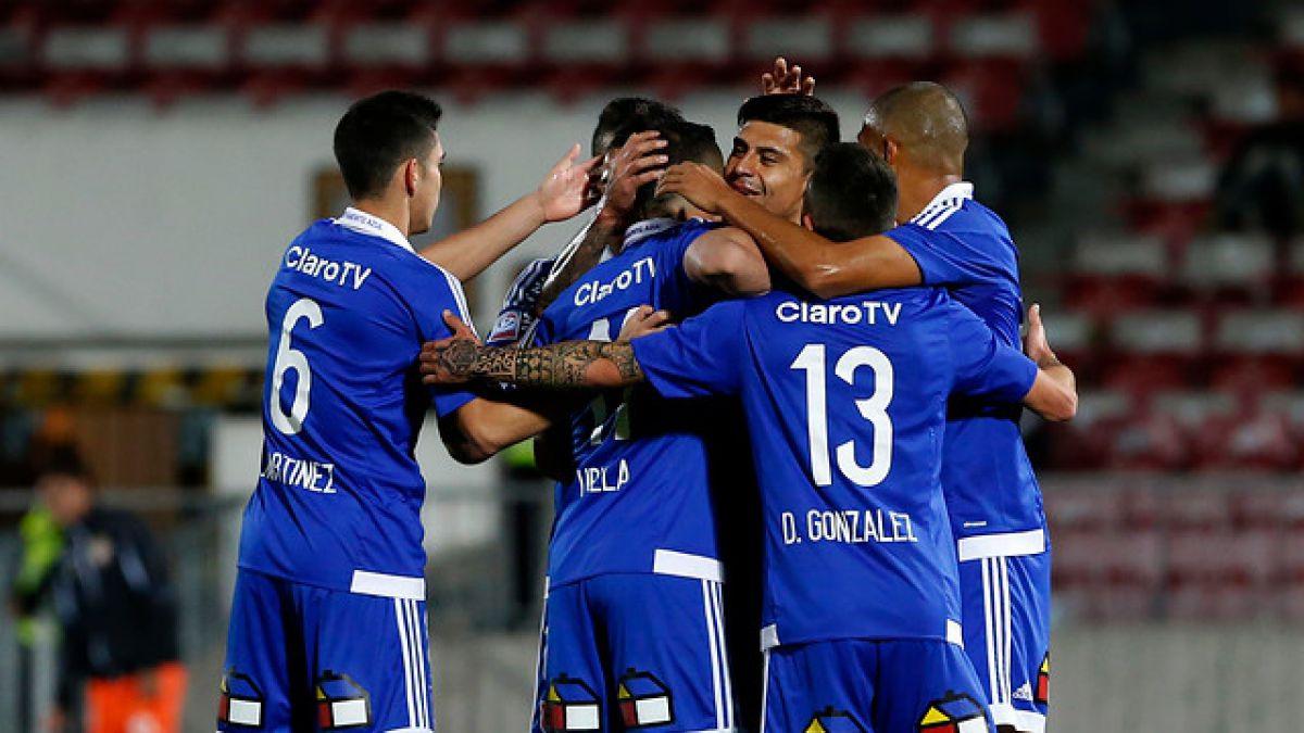 La U golea a Cobreloa y se instala en semifinales de Copa Chile
