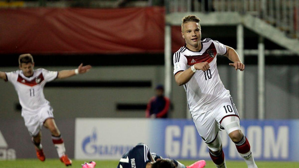 Alemania apabulla a Argentina y clasifica a octavos del Mundial Sub 17