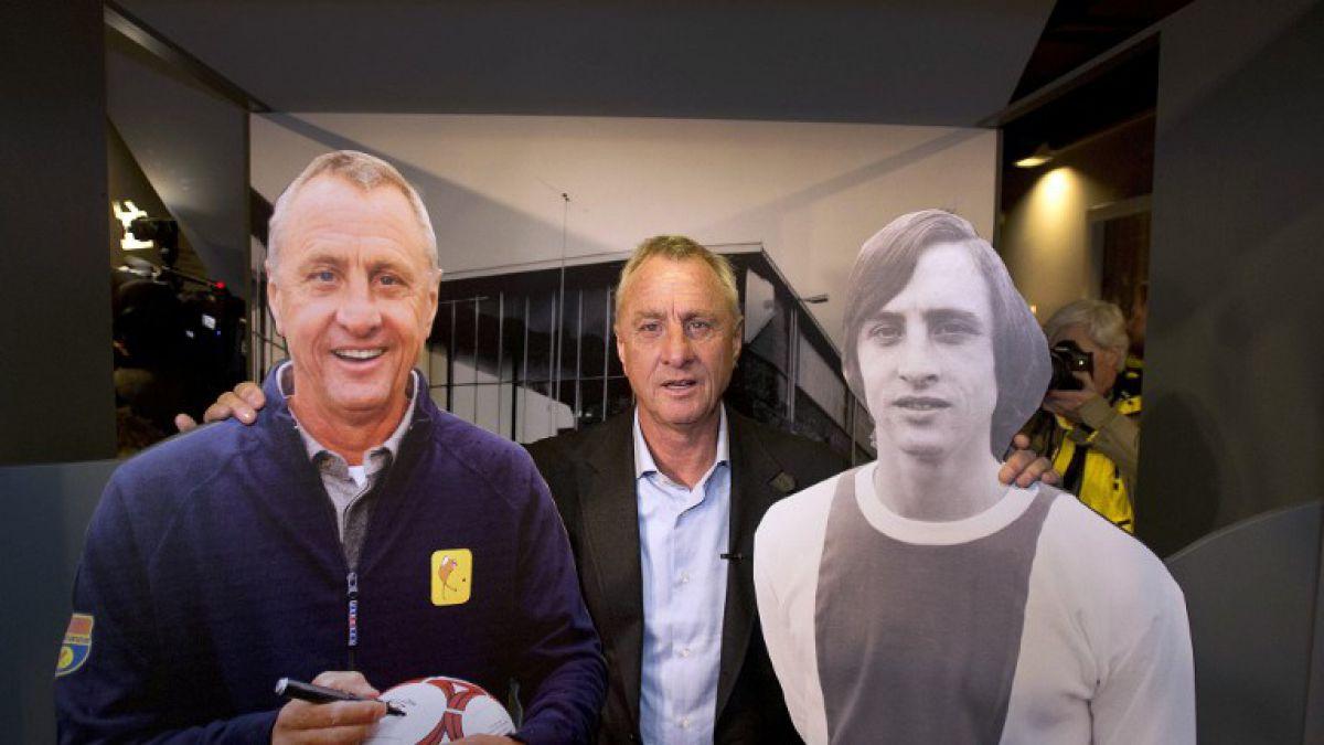 Johan Cruyff padece cáncer al pulmón y recibe tratamiento en Barcelona