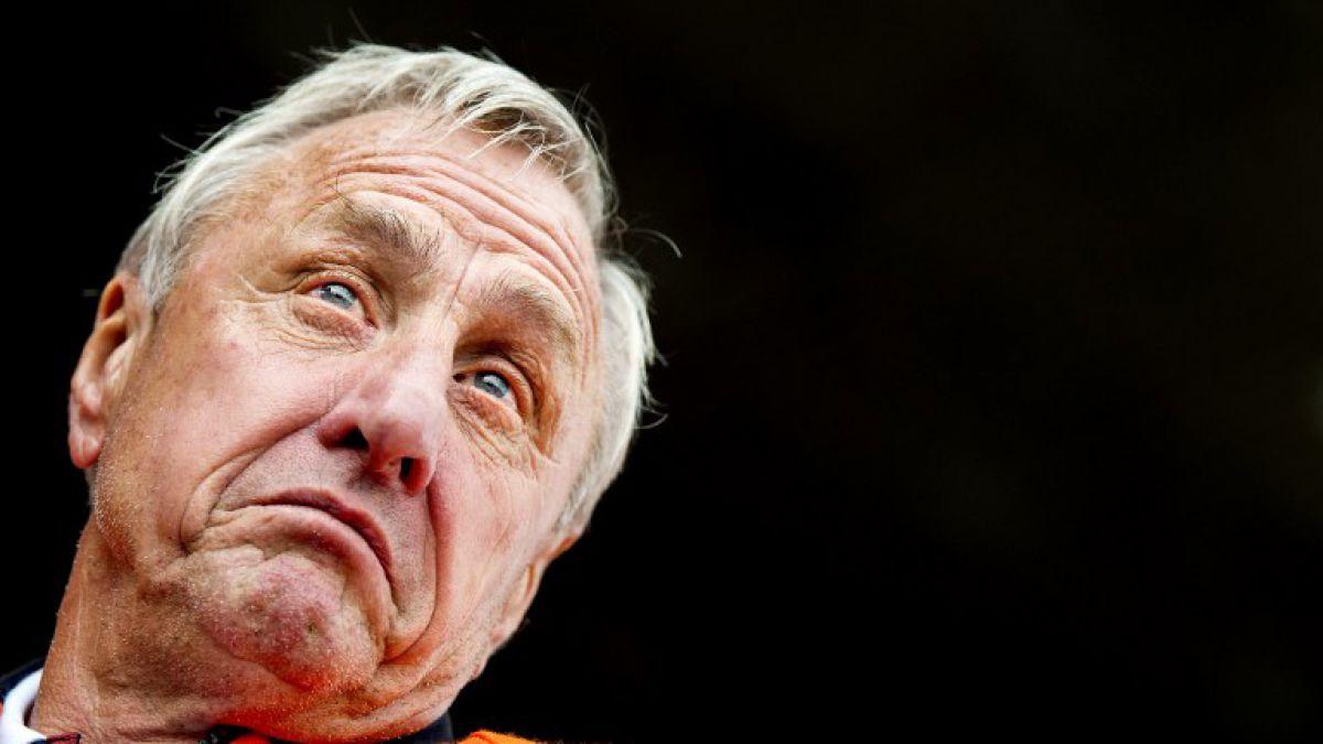 Cruyff afirma que está teniendo resultados muy positivos contra su cáncer