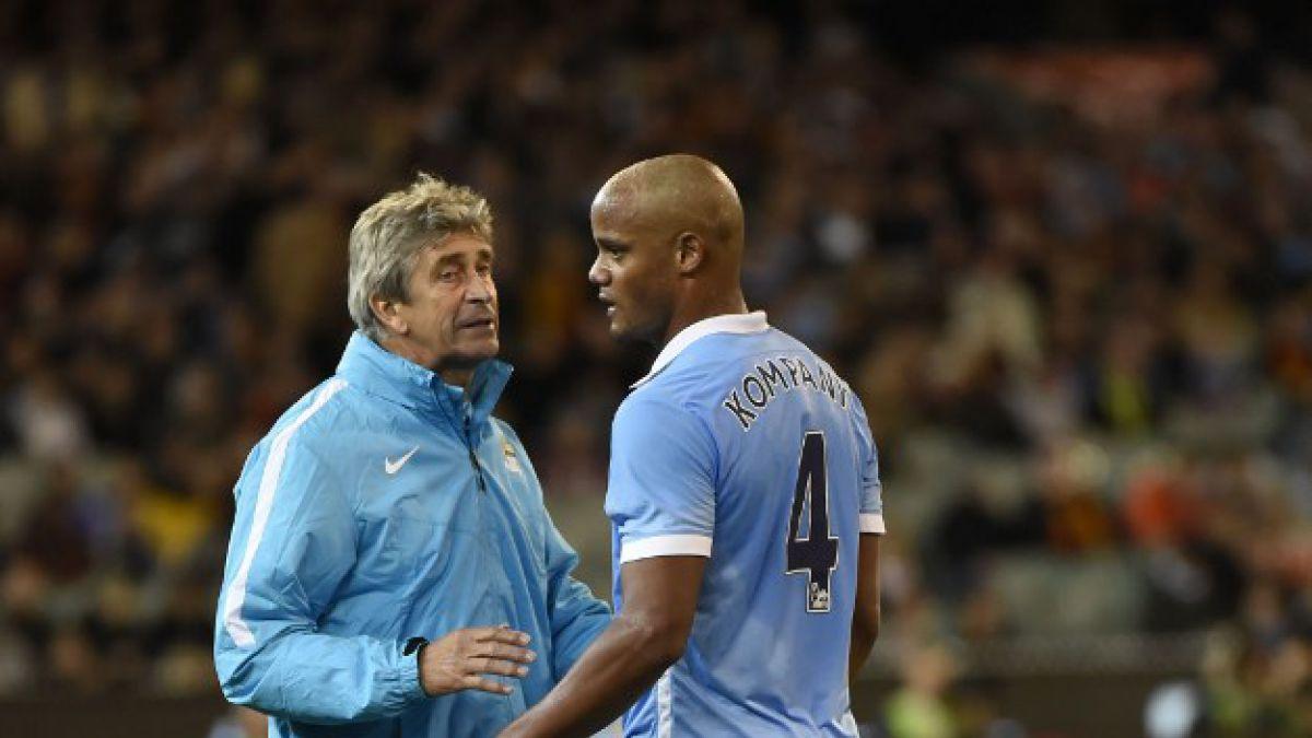 En Inglaterra revelan la molestia de Pellegrini con el capitán del Manchester City