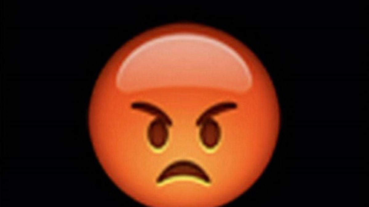 Enojado El emoji que usó la ministra australiana para referirse a ...: http://imgarcade.com/1/enojado