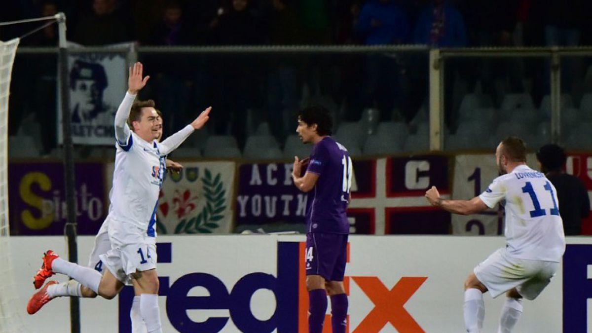 Europa League: Fiorentina de Matías Fernández cae ante Lech Poznan