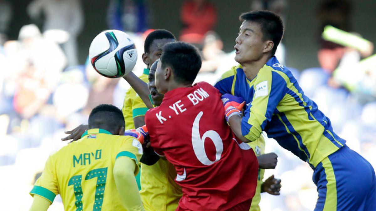 Sudáfrica empata ante Corea del Norte con un hombre más en el Mundial Sub 17