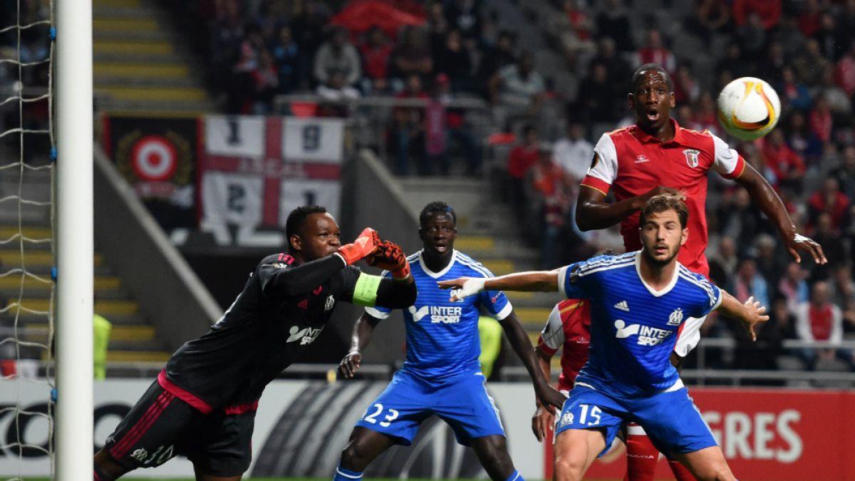Europa League: Marsella de Mauricio Isla cae sobre la hora frente al Braga
