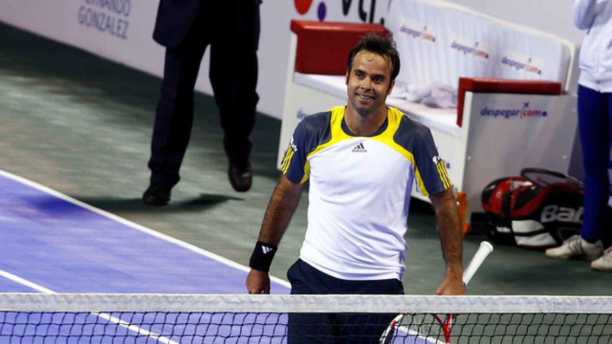 Fernando González se mete en la final de torneo de veteranos en Seúl