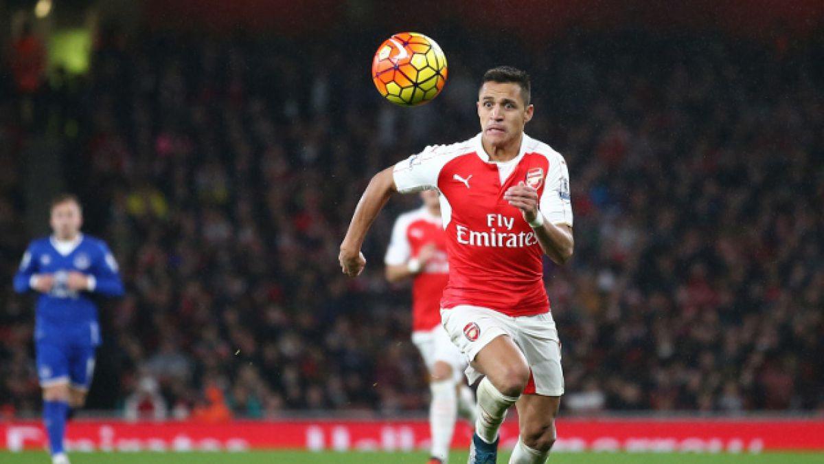 Arsenal FC de Alexis vence a Everton y alcanza la cima de la Premier League