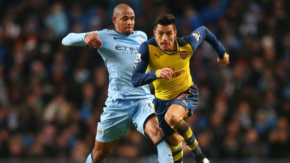 Pellegrini y Alexis en la cima de la Premier: Manchester City y Arsenal comparten primer lugar