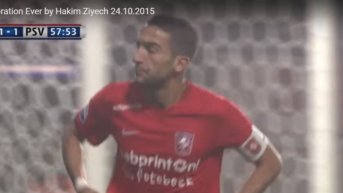 [VIDEO] ¡Qué caída! Jugador holandés cae de cabeza en plena celebración