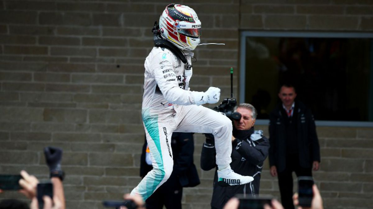 Lewis Hamilton gana en Texas y se consagra tricampeón mundial de Fórmula 1