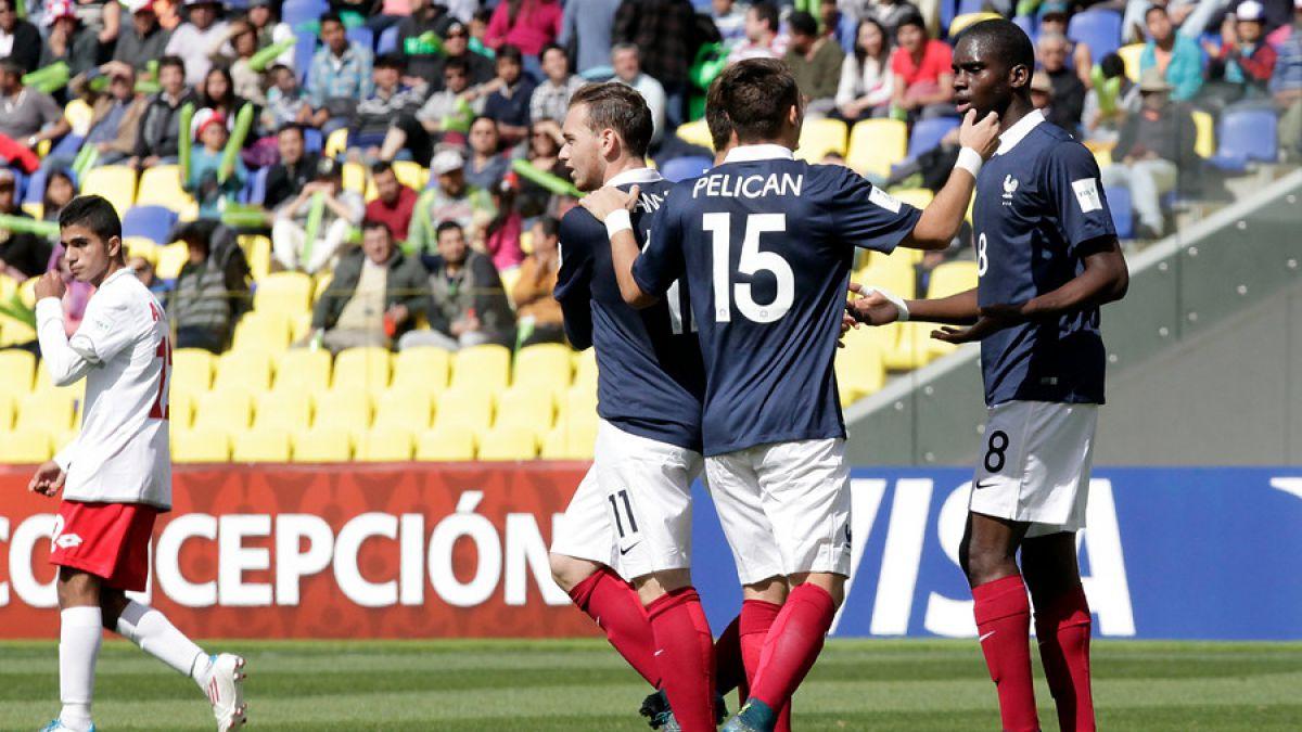 [VIDEO] La goleada con que Francia gana el Grupo F del Mundial Sub 17