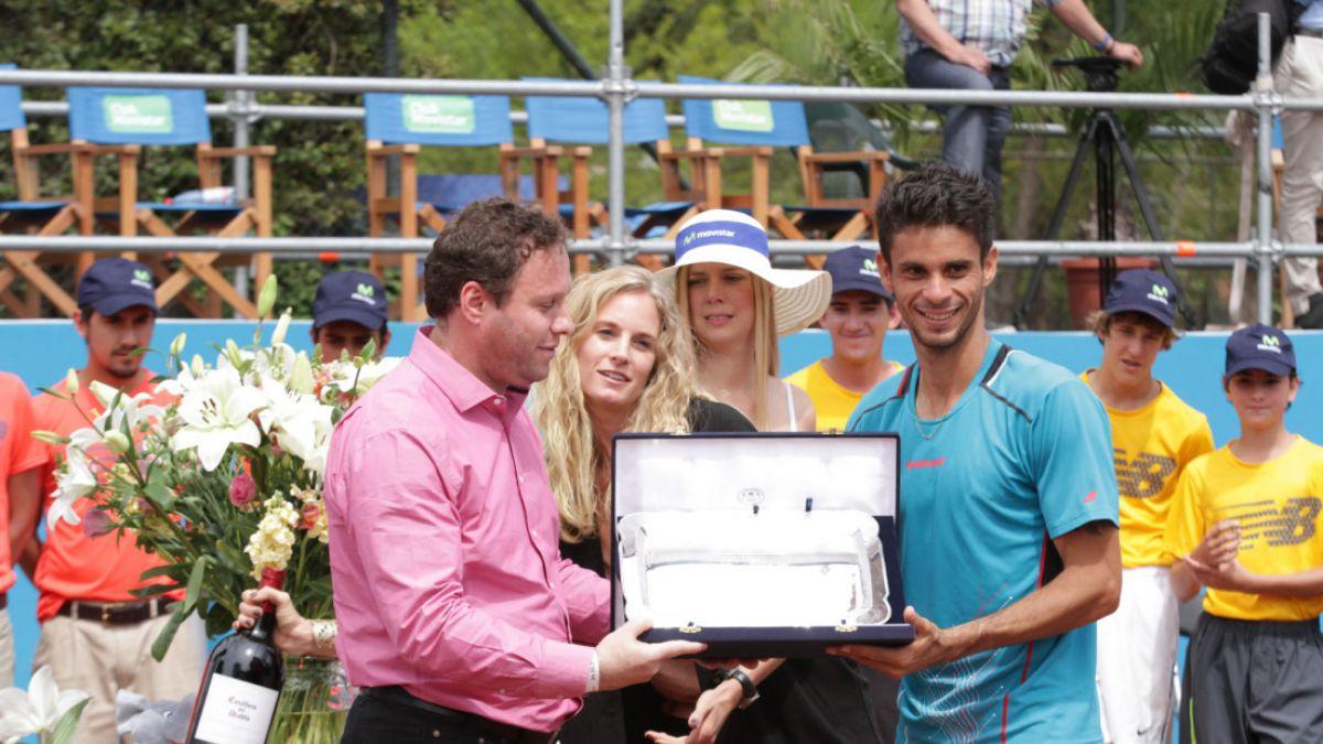 El brasileño Rogerio Dutra Silva obtuvo el campeonato challenger de Santiago
