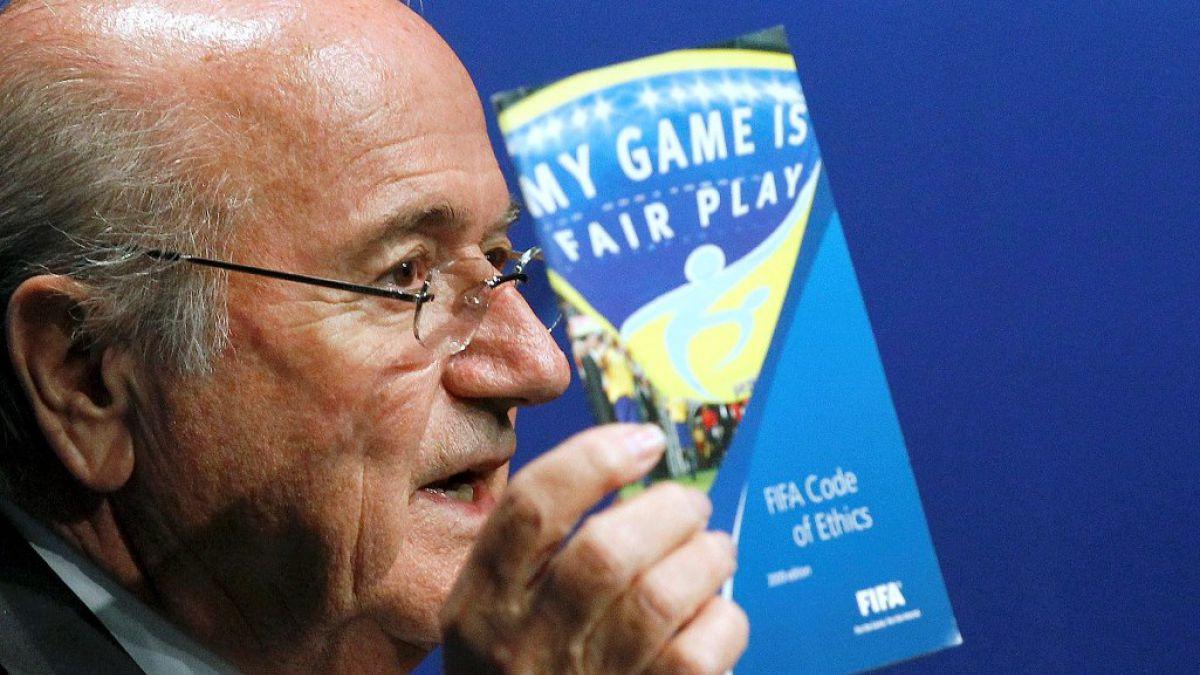 """Blatter: """"Jamás pedí dinero a Beckenbauer"""""""