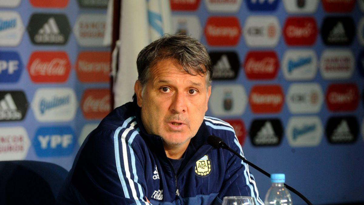 Gerardo Martino ya tiene la nómina para enfrentar a Brasil y Colombia